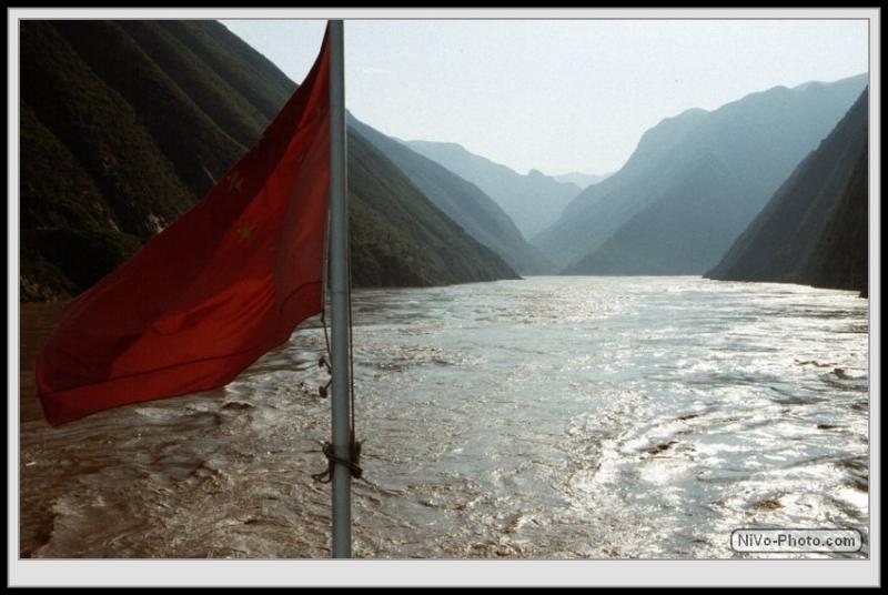 Drei Schluchten, China 1997